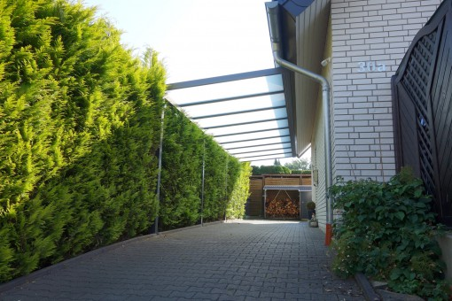 Carport mit Aluminium Pultdach (02)