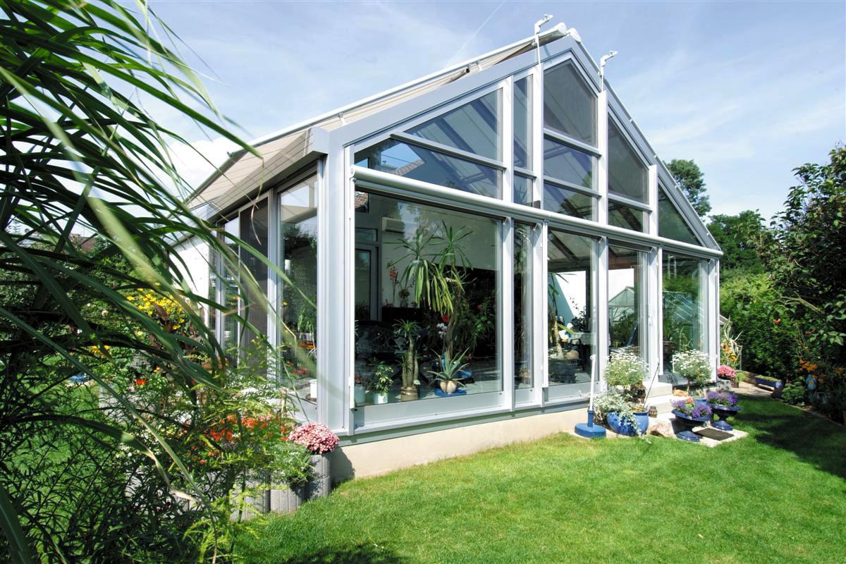 wohnwintergarten aus glas und aluminium glalum. Black Bedroom Furniture Sets. Home Design Ideas